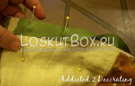 лента для окантовки пледа