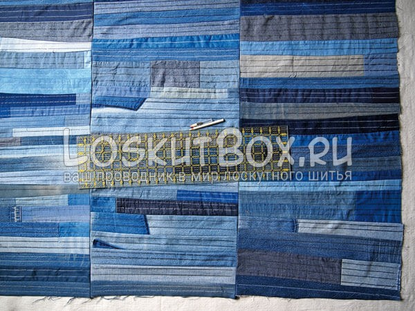 Denim-patchwork-quilt-tutorial-step11