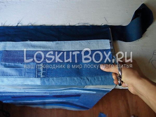 Denim-patchwork-quilt-tutorial-step6