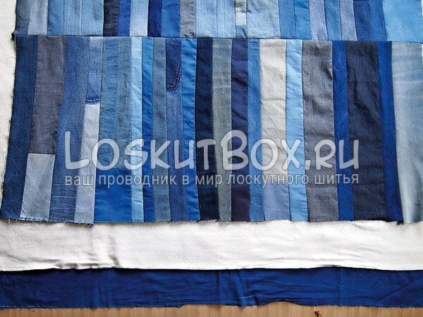 Denim-patchwork-quilt-tutorial-step9