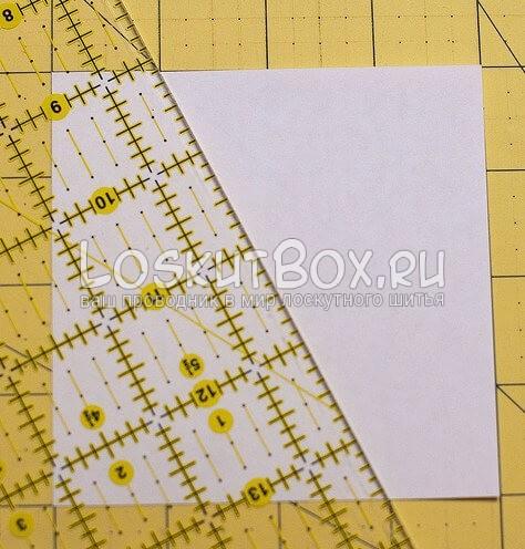 Лоскутный блок — калейдоскоп (2)