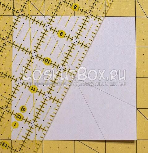 Лоскутный блок — калейдоскоп (3)