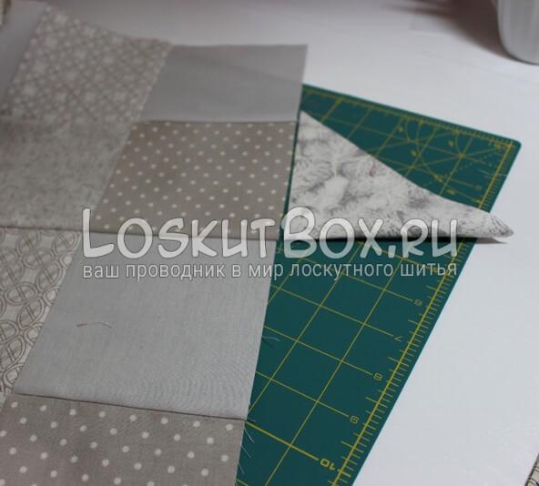 Лоскутная салфетка на стол (1)