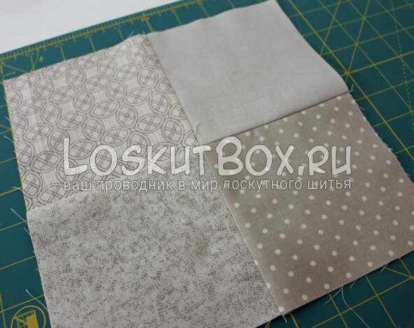 Лоскутная салфетка на стол (3)