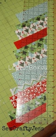 блок елочка и лоскутный коврик (7)