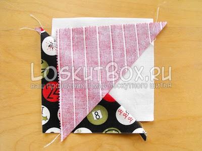лоскутное одеяло со звездами (14)