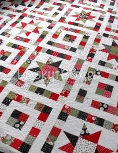лоскутное одеяло со звездами (25)