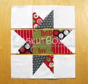 лоскутное одеяло со звездами (29)