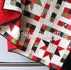 лоскутное одеяло со звездами (3)