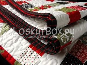 лоскутное одеяло со звездами (4)