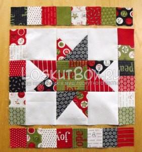 лоскутное одеяло со звездами (6)
