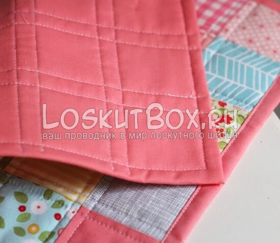 Оборотная сторона лоскутного одеяла