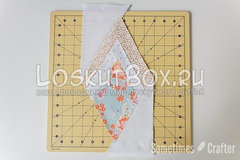 Пэчворк схемы блоков. Лоскутный алмаз
