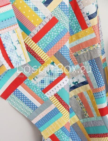 Scrappy-Strip-Quilt-Tutorial-Cluck-Cluck-Sew