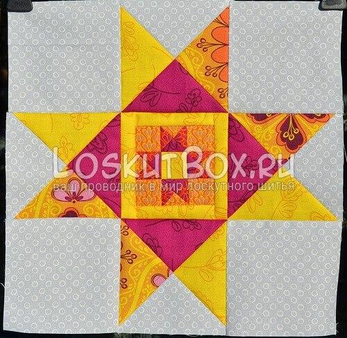 схема блока Звезда Огайо