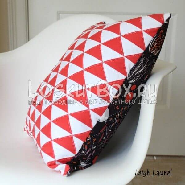 Подушка вид сбоку