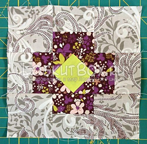 Бриллиантовый крест. пэчворк схемы шаблоны и выкройки для начинающих
