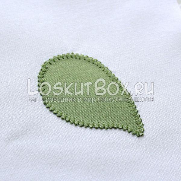 Готовый лист. Одеяло йо-йо