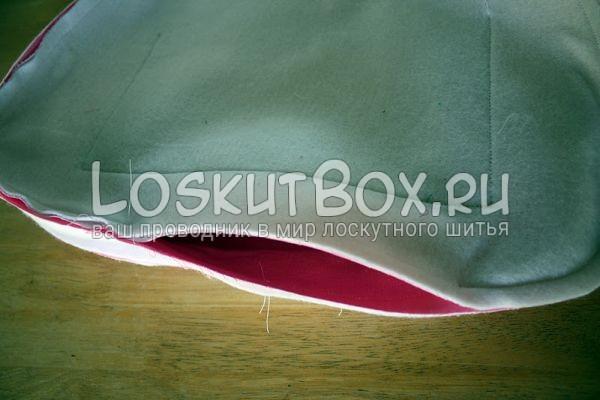 Сшивание внутр и внешней части сумки.Cумка своими руками