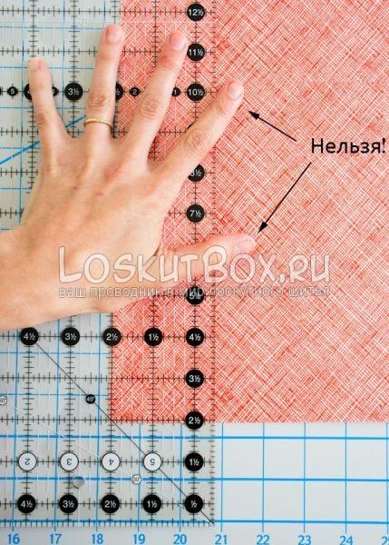 Расположение пальцев