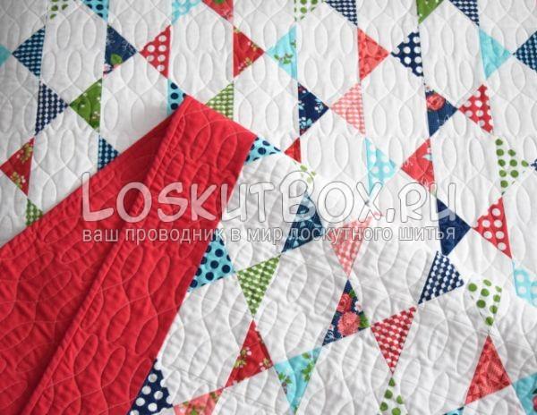 Лицевая часть одеяла
