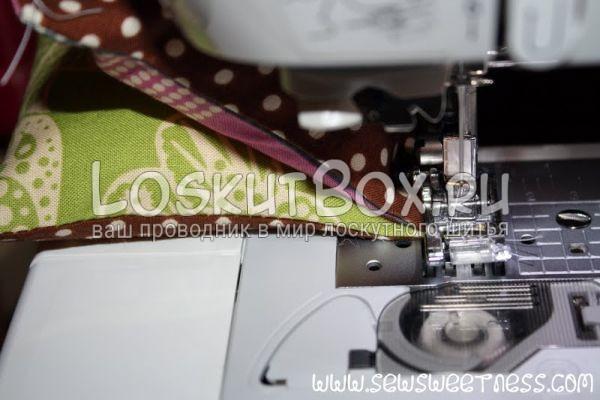 Сшивание двух квадратов