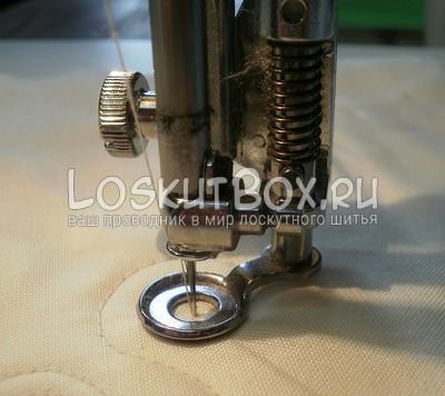 Металлическая • Лапка для вышивания или штопки