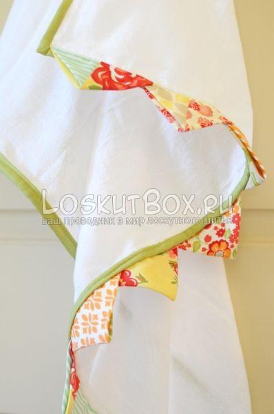 Декор для кухонного полотенца. пэчворк идеи для кухни