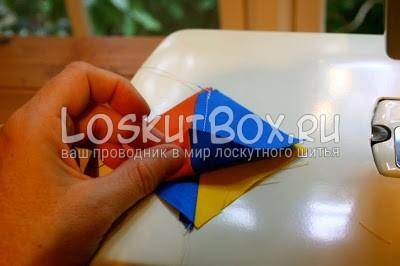рука детали из ткани рабочая поверхность