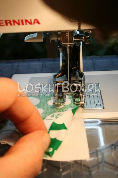 пальцы ткань машинная игла