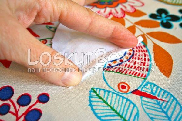 пальцы ткань сгиб