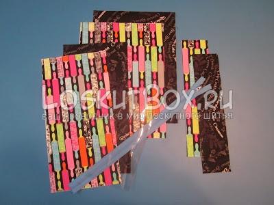 раскрой деталей из ткани