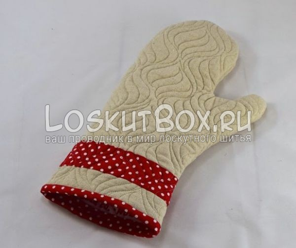 рукавичка готовая