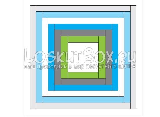 Шаблон квадрата