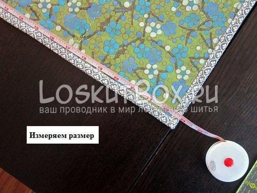 Измеряем длину лоскутного одеяла