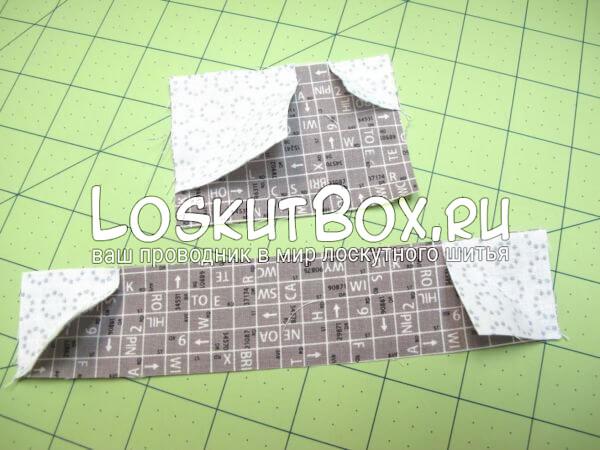 полоски и квадраты