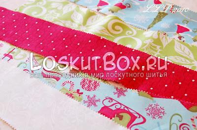 Лоскутки ткани для шитья