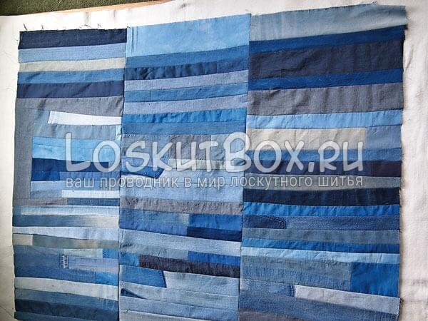 Denim-patchwork-quilt-tutorial-step10