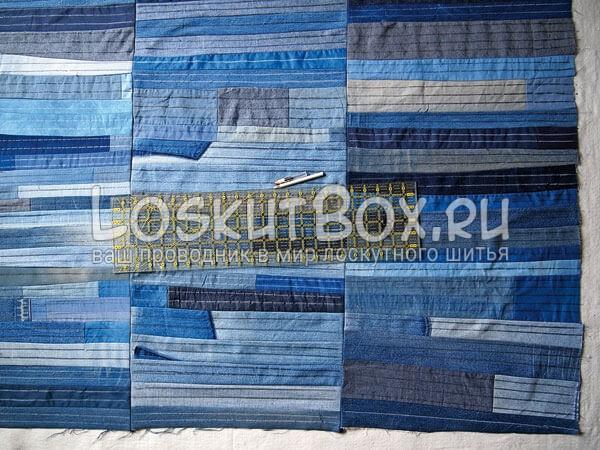 Denim-patchwork-quilt-tutorial-step11