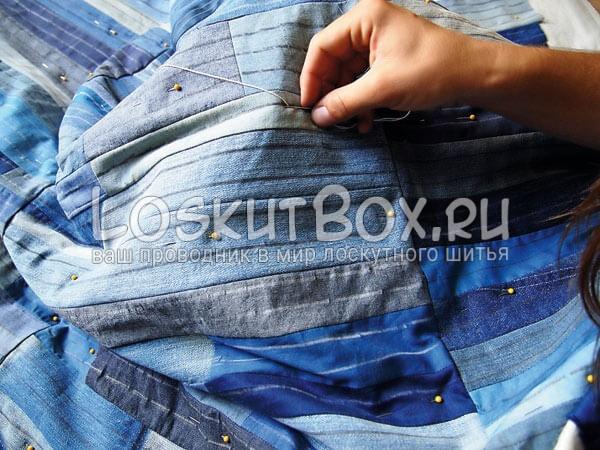 Denim-patchwork-quilt-tutorial-step13