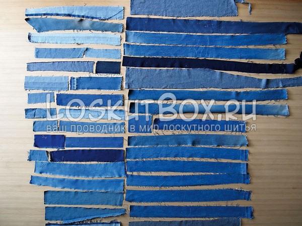 Denim-patchwork-quilt-tutorial-step2