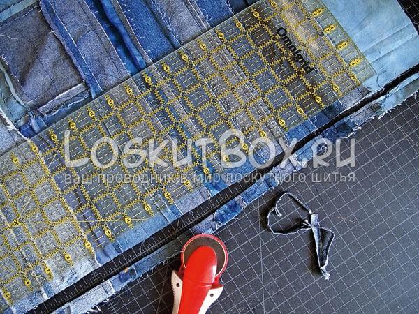 Denim-patchwork-quilt-tutorial-step8