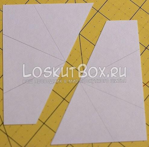 Лоскутный блок — калейдоскоп (5)