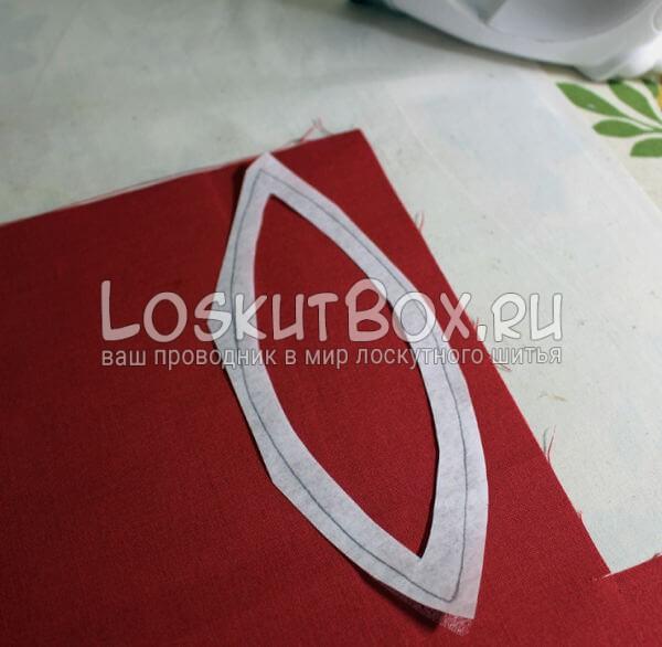 Лоскутная салфетка на стол (7)