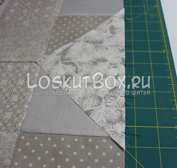 Лоскутная салфетка на стол (9)