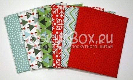 блок елочка и лоскутный коврик