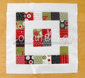 лоскутное одеяло со звездами (8)