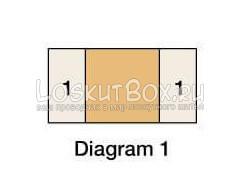лоскутный блок бревенчатая изба (3)
