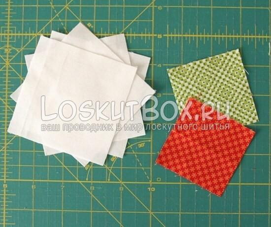 лоскутный блок галстук-бабочка (2)