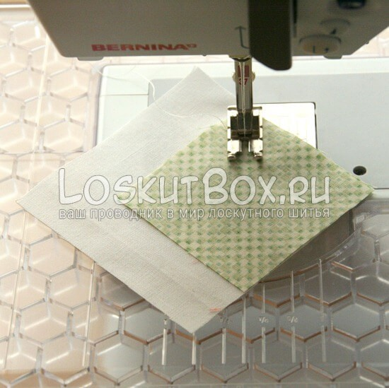 лоскутный блок галстук-бабочка (3)